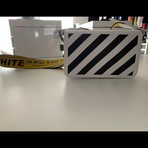 Off - White Authentic Mini Diag Flap Bag!